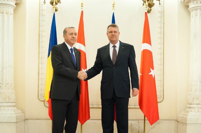 """Vizita oficială a """"sultanului"""" Erdogan în România"""