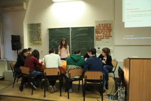 """Repetitie pentru European Youth Event in cadrul """"Simpozionului National al Studentilor Geografi"""""""