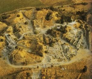 Ruinele cetății Troiei