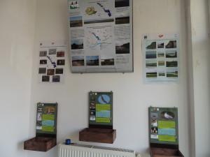 Punctul de informare turistică al sitului de la Școala din Lehliu-Gară și expoziția permaentă la Școala din Valea Argovei (Foto O. David)