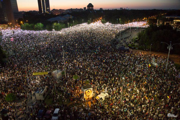 Reacția diasporei la evenimentele de ieri, din Piața Victoriei