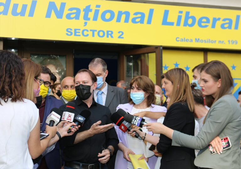 Președintele PNL Sector 2, Monica Anisie și-a anunțat candidatura pentru un nou mandat, în prezența Premierului Florin Câțu