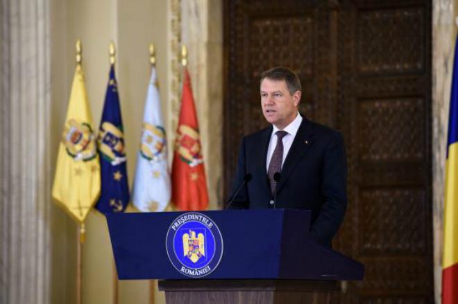 Klaus Iohannis dă raportul țării