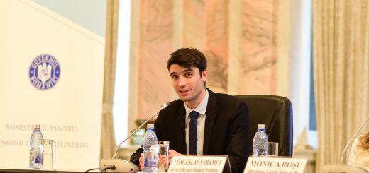 """Participarea secretarului de stat din cadrul MpRP, Veaceslav Șaramet, la lansarea proiectului """"Urmașii Marii Uniri"""""""