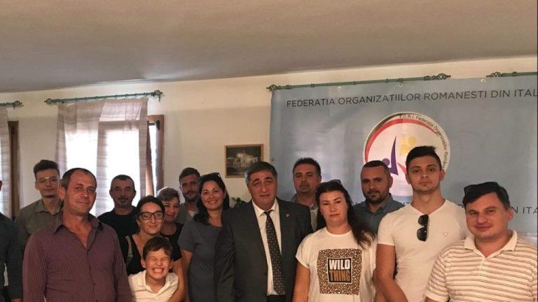 Senatorul Dan Manoliu este alături de comunitatea românească din Sardinia