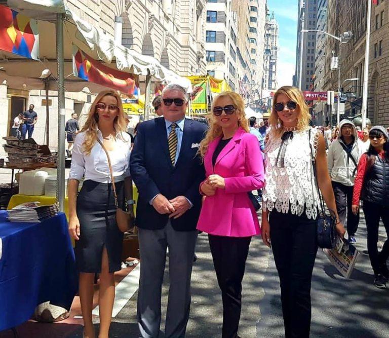 """""""Campanie electorală"""" de lux a PSD la New York"""
